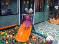 детский игровой лабиринт c cухим бассейном