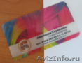 Изготовление прозрачных визиток