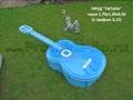 Пруд «Гитара» декоративный из полипропилена (пластик)